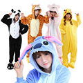 Wholesale Pajamas Stitch Unicorn Panda Unisex Flannel Hoodie Animal Onesies Sleepwear Costume Cosplay For Men Women Adults Child