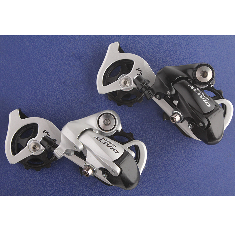 SHIMANO ALIVIO RD M410 7S 8S Speed MTB Bicycle Rear Derailleur Black & Silver bicycle pedal