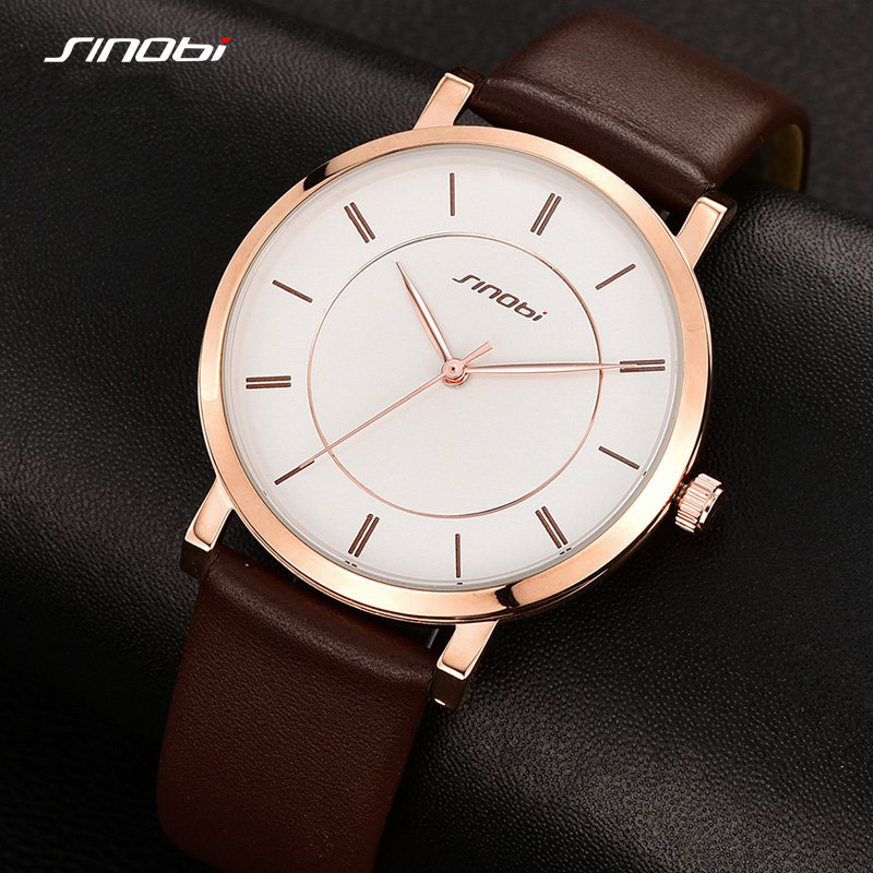 Ultra Thin Fashion Casual Quartz Watch Men Unisex Business Leather strap Rose Gold Wristwatch Simple Design relojes 2017 ultra thin watch male student korean version of the simple fashion trend fashion watch waterproof leather watch men s watch quar