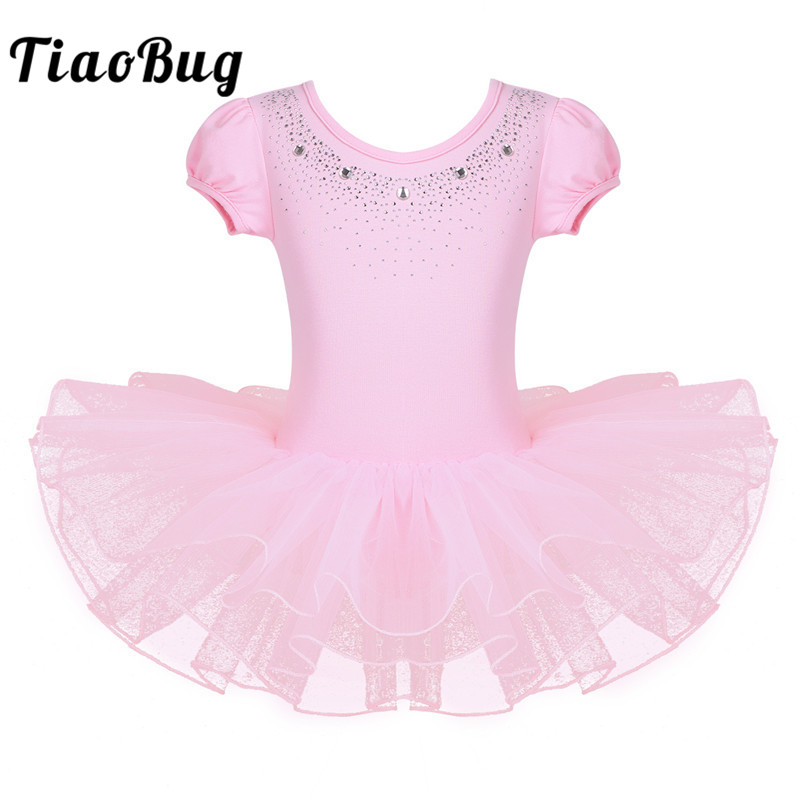 tiaobug-child-mesh-bubble-sleeve-font-b-ballet-b-font-tutu-dress-rhinestone-girls-gymnastics-leotard-kids-stage-dance-costume-font-b-ballet-b-font-leotards