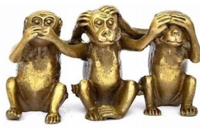 Three Wise Monkeys Hear See Speak No Evil 3 Monkey