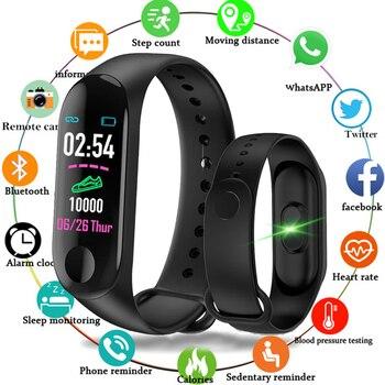Smart Sports Bracelet Watch for Women and Men Watch