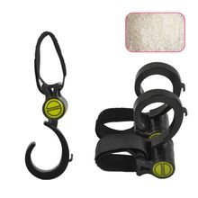 1pcs Baby Stroller Hook Multifunctional 360 Basket Strap Bag Hanger Grip Accessories