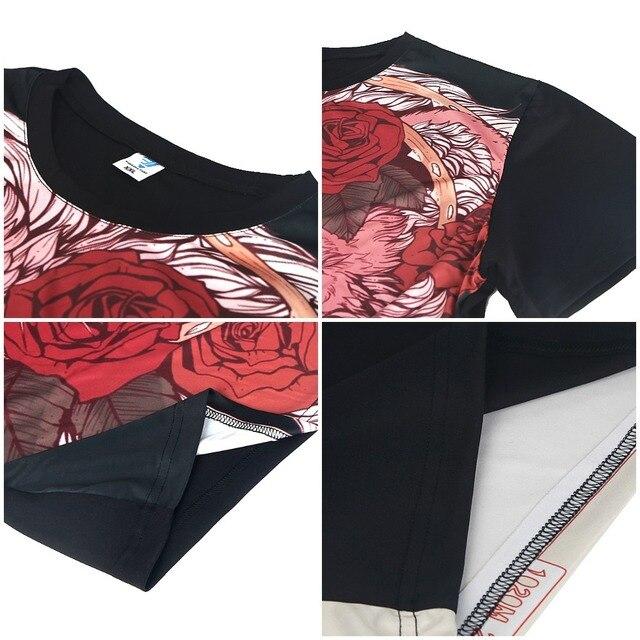 Jojo T Shirt The Best Duo T-Shirt Printed Short Sleeve Graphic Tee Shirt Mens Polyester Funny Casual 6xl Tshirt 3