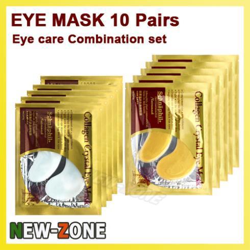 10 Pairs Eye Mask Eye skin care patches Deep moisturizing Powerful Anti aging wrinkle Free Shipping