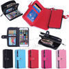 Details About Luxury PU Leather Purse Zipper Wallet Case Card Cash Holder For Apple Iphone