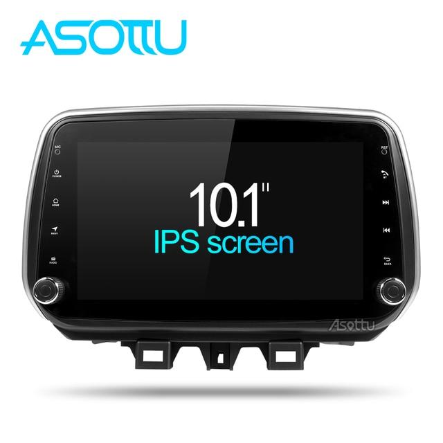 Asottu android 8,1 coche dvd gps player para hyundai Tucson ix35 2018 coche dvd gps navegación radio reproductor de vídeo 1 din estéreo del coche