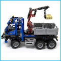 2017 nuevo envío libre decool 3331 large 805 unids modelo exploiture crane enlighten bloques de construcción de plástico establece leping compatible