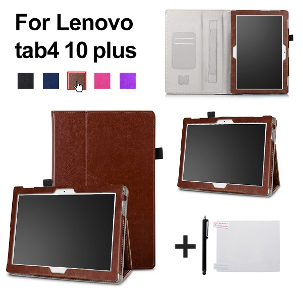 Case For Lenovo TAB 4 10 Protective Smart cover Leather Tablet