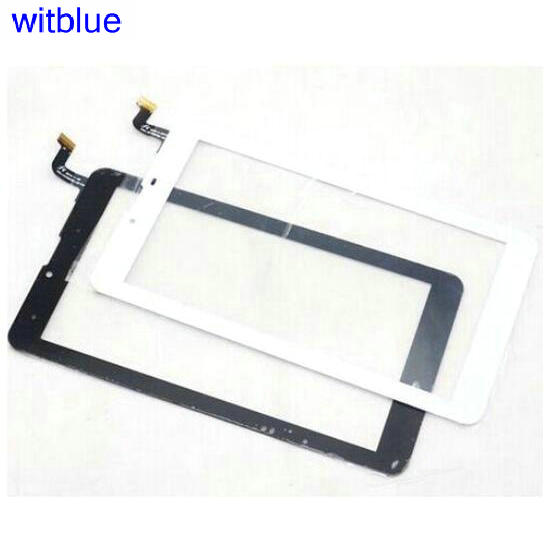 New capacitive touch screen digitizer For 7 Oysters T74HMi 4G tablet Touch Panel glass sensor replacement Free Shipping new capacitive touch screen for 10 1 inch 4good t101i tablet touch panel digitizer glass sensor replacement free shipping