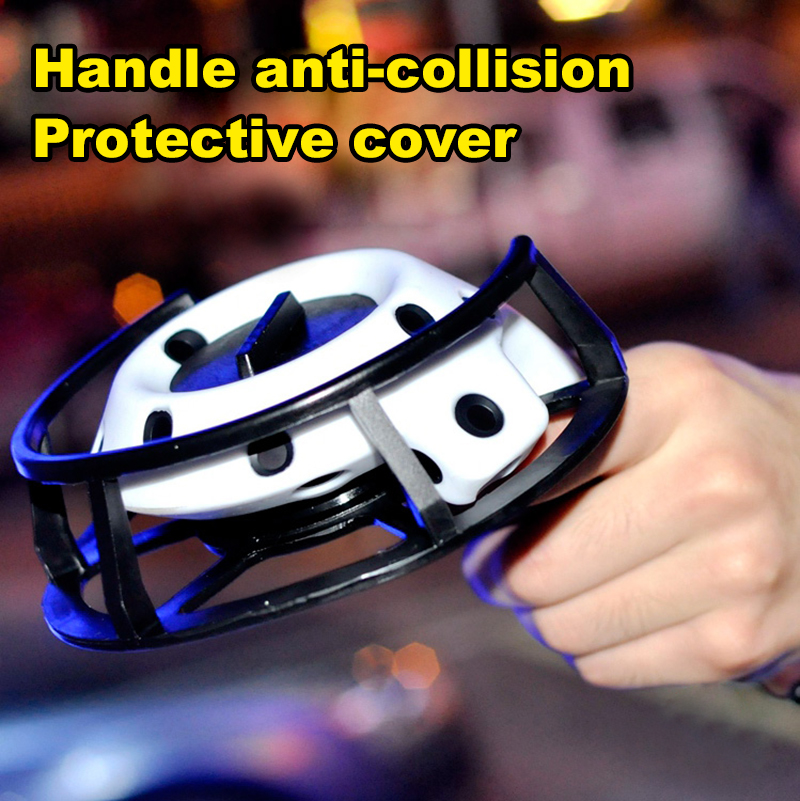 HOT Controller Handle Anti collision Elastic Protective Cover Collision Armor Silicone Case For HTC Vive Headset