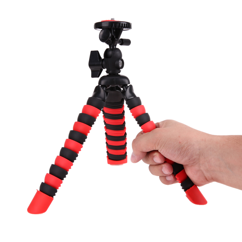 1 4 Screw Mount Tripod Octopus Mini Table Tops Tripods Camera Stand Stabilizer Support Holder Bracket