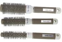 6 Sizes (19 MM 25 MM 32 MM 45MM 53 MM 65 MM )Durable Ceramic Iron Round Comb Hair Dressing Brush Salon Styling Barrel 4