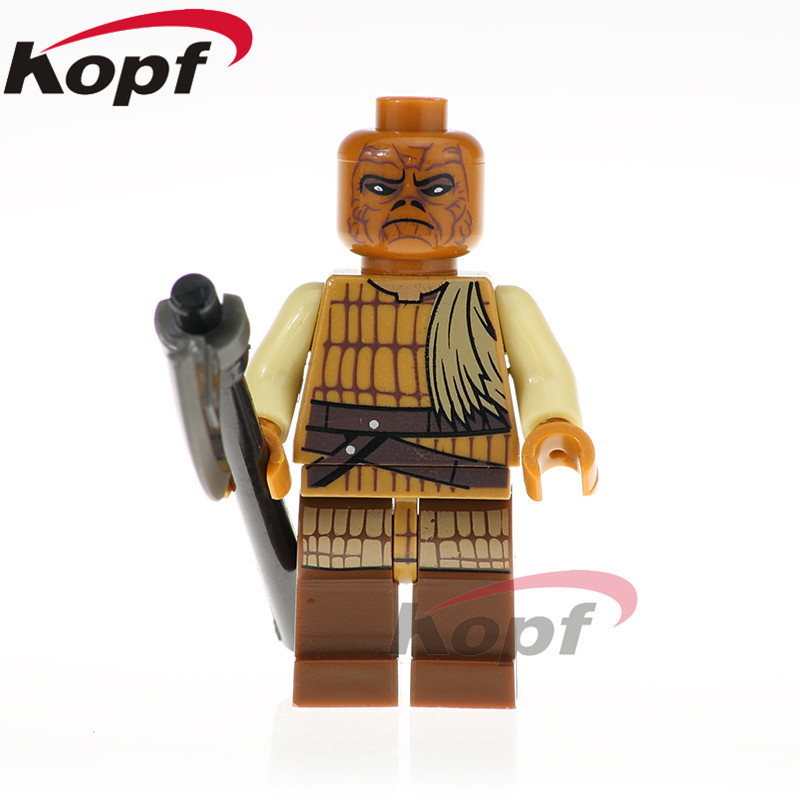 Single Sale Star Wars Figures Weequay Skiff Guard Navy Commander Han Solo Building Blocks Collection Toys Children Gift PG797