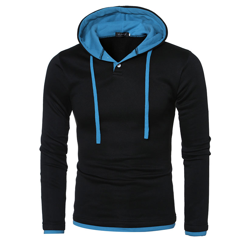 2017 New Sweatshirt Men Hoodies Fashion Solid Fleece Hoodie Men's Brand Designed Pullover Men's Tracksuits Moleton Masculino