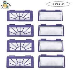 8 шт чистым куклы Замена НЕРА-фильтр для Neato Подпись Pro XV 11 12 14 15 21 25 Pet и аллергия робот-пылесос фильтр