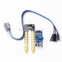 5PCS/LOT FREE SHIPPINGSoil moisture meter testing module, soil humidity sensor, robot/intelligent car for Arduino