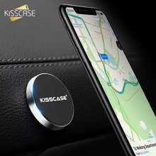 KISSCASE Magnetic Car Phone Holder Wall Desk Car Mount Magnet Sticker Stand Phone Holders For iPhone 11 7 X 6 For Xiaomi S8 Mi 9(China)