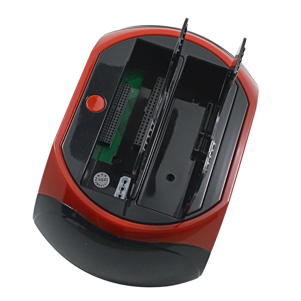 IsMyStore: TISHRIC IDE SATA Dual All In 1 Hd/HDD Dock/Docking Station Hard Disk/Drive Hdd 2.5 3.5 Reader Usb EU External Box Enclosure Case