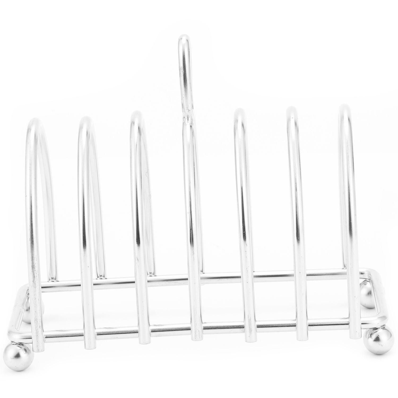 YHYS Hoge Kwaliteit Roestvrij staal brood rack.6 Slice Toast Rack-in Bakken & Gebak Hulmiddelen van Huis & Tuin op  Groep 2