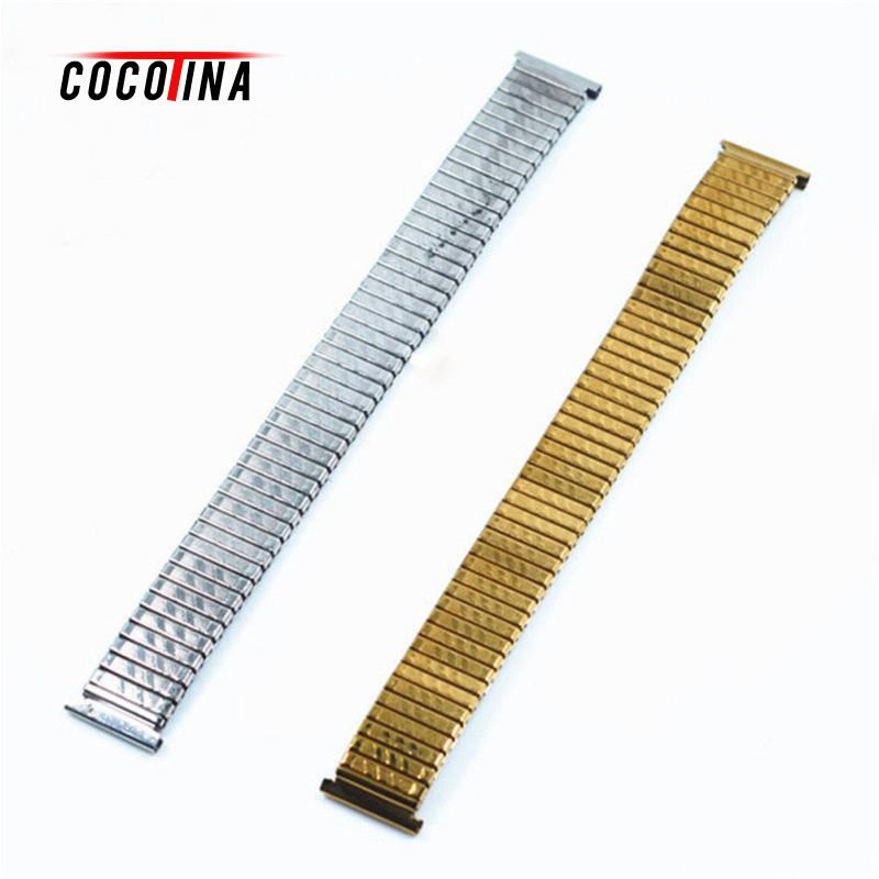 COCOTINA Hot Sale Creative Stretch Expansion Stainless Steel Watch Band Strap Bracelet 10 12 14 16 18 20 mm LBD1150 все цены