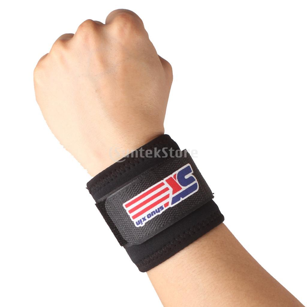 Adjustable Sports Wrist Band Brace Wrap Support Gym Carpal Tunnel Bandage