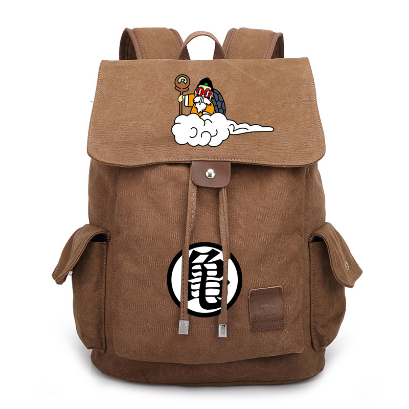 School Bag Dragon Ball Cosplay canvas backpack unisex student Shoulder Backpack Turtle NEW balc skull metal gear solid v diamond dogs cosplay backpack unisex shoulder school bag