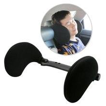 Новый стиль автомобиля сиденья боковые подушки путешествия сна регулировки подголовник подушки для шеи выдвижной салонные аксессуары