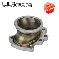 FREE SHIPPING TURBOCHARGER ADAPTOR FLANGE T25 T28 GT25 GT28 5 BOLT to 2.5v band TURBO OUTLET DOWNPIPE FLANGE ADAPTER