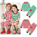 Baby Clothing Set Cotton Kids Christmas Pajamas Waist Children Clothing Set T-Shirt+Pants Sleepwear For Baby Girls Boys Clothes