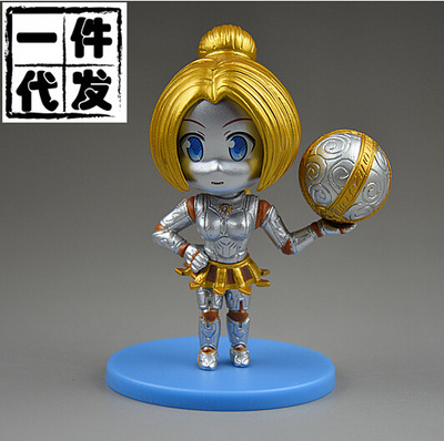 NEW hot 8cm The Lady of Clockwork  Orianna action figure toys collection doll Christmas gift no box new hot 23cm the frost archer ashe vayne action figure toys collection doll christmas gift with box