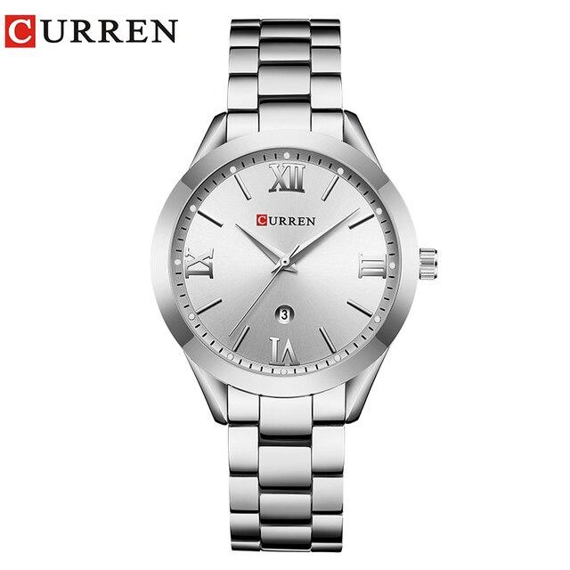 CURREN Gold Watch Women Watches Ladies Creative Steel Women's Bracelet Watches Female Clock Relogio Feminino Montre Femme |