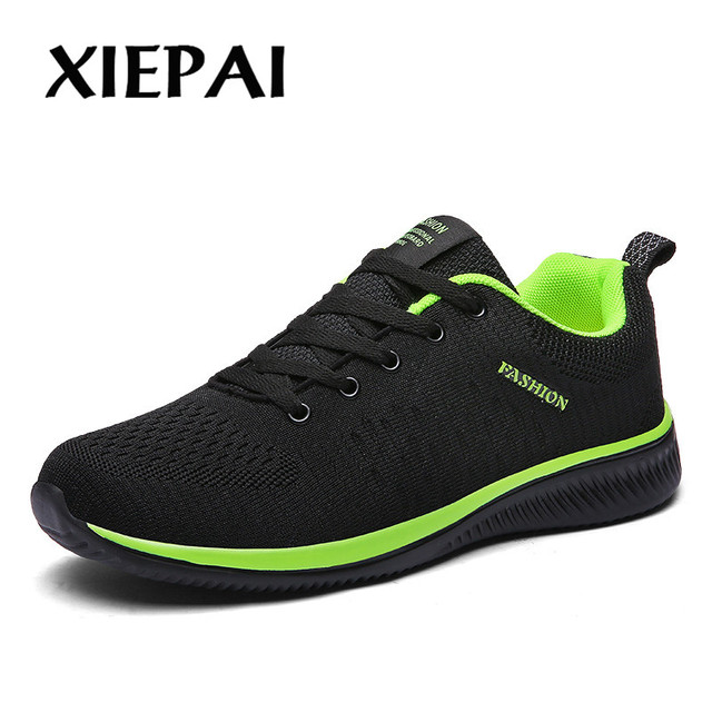 2019 2018 New Mesh Men Casual Shoes Lac-up Men Shoes Lightweight Comfortable Breathable Walking Sneakers Tenis Feminino Zapatos