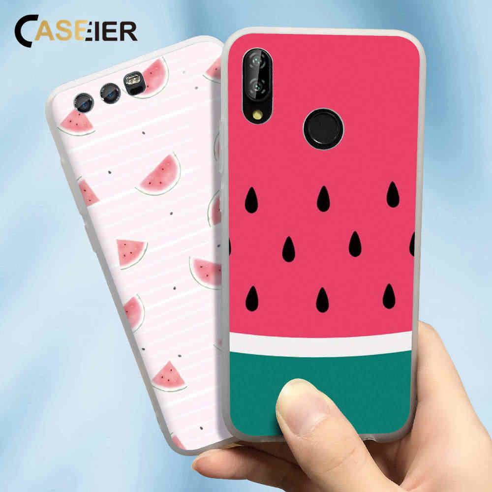 CASEIER ソフトかわいいケース Huawei 社 P30 P20 P10 P9 P8 プロメイト 20 10 Lite マット電話ケース huawei 社 PSmart プラス Y9 2019 名誉 9