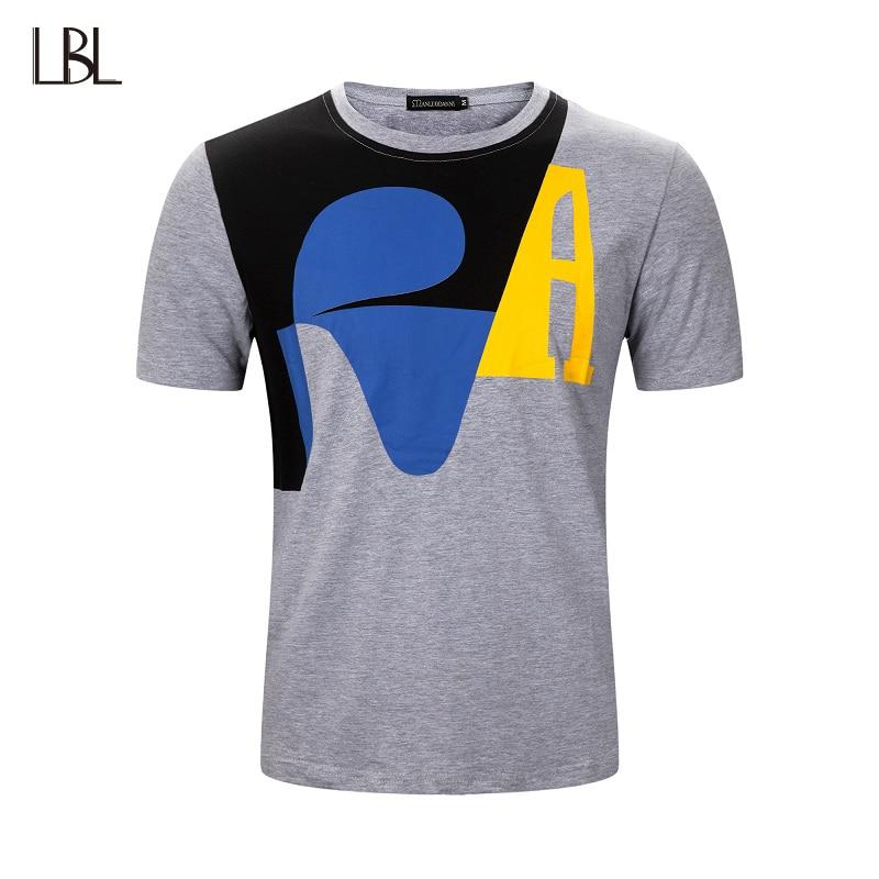 US Size Sportsman Wear T-shirts Men Brand Clothing Jogger Short Sleeve Casual Breathbale Streetwear Tee Shirts Summer Top Tees