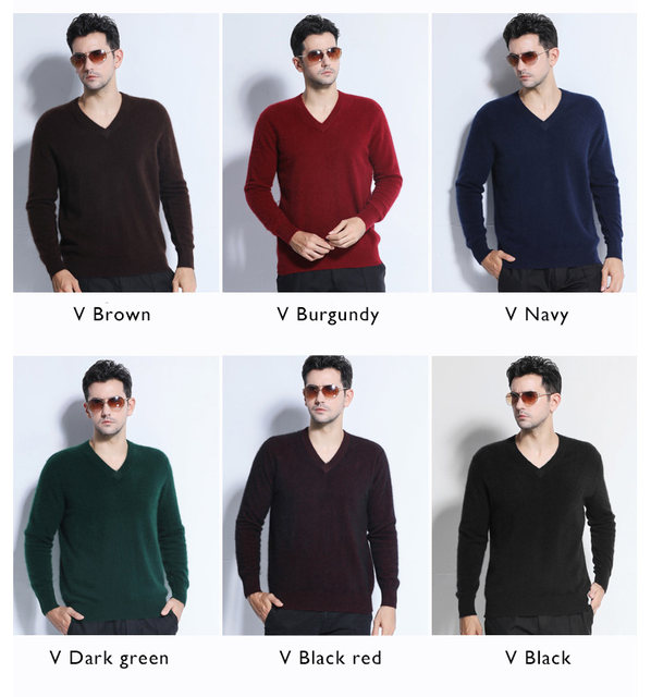 Sales Promotion Winter New Brand Men's High O Neck 100 Mink Cashmere Sweater Half Turtleneck Pullover man christmas masculina 42