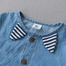 Sodawn Summer New Arrival Denium Baby Boys Clothing  Fashion Design Lovely Romper Comfortable Bebe Girls Clothes