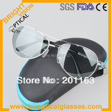 2213 star metal polarized photochromic  hot sunglasses  100% UVA  UVB  sunshade