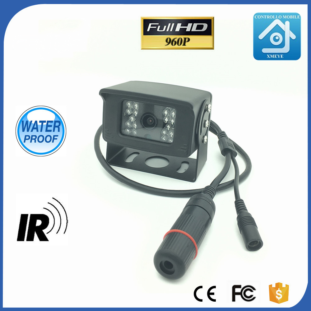 960P 1.3MP P2P Onvif IP Network Car Rear View Camera Reverse Backup Camera Rearview Parking IR Nightvision Waterproof Bus Truck ir led car rear view ip network camera 720p backup reversing parking rearview cam night vision waterproof for truck bus page 1