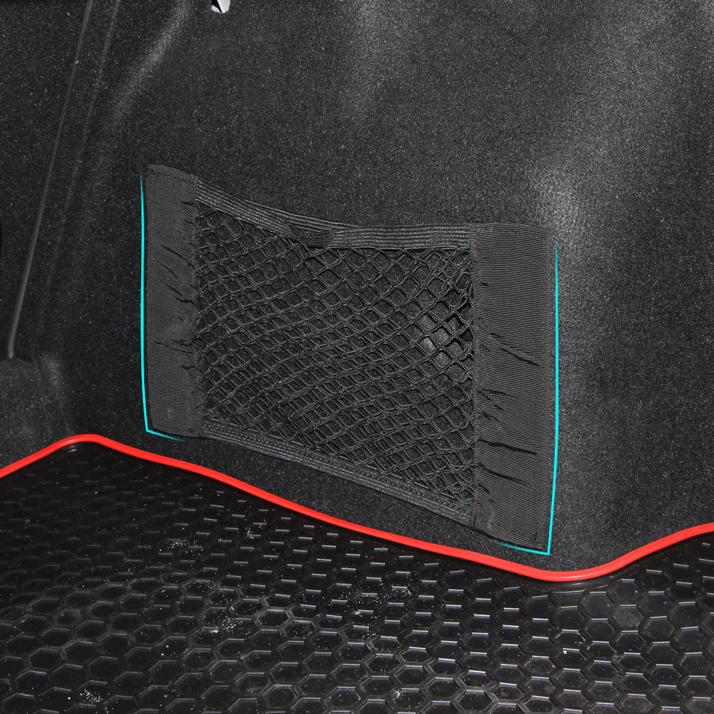 Image 4 - Car Trunk luggage Net For Volkswagen VW Polo Passat B5 B6 CC GOLF 4 5 6 Touran Bora Tiguan Peugeot 307 206 308 407 Accessories-in Car Stickers from Automobiles & Motorcycles