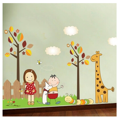 60*90 cartoon paintings cheerful company,children bedroom