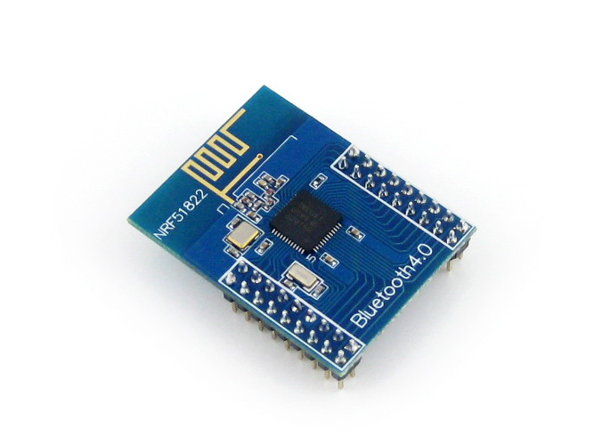 Parts BLE4.0 Bluetooth NRF51822 Module 2.4G Wireless Communication Module Transmitter Receiver Development Evaluation Kit