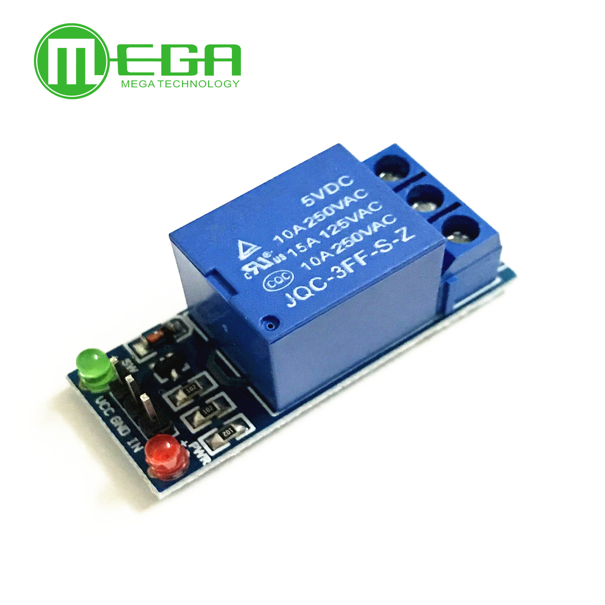 50pcs 1 Channel 5V Relay Module Low level for SCM Household Appliance Control FREE SHIPPING For Arduino