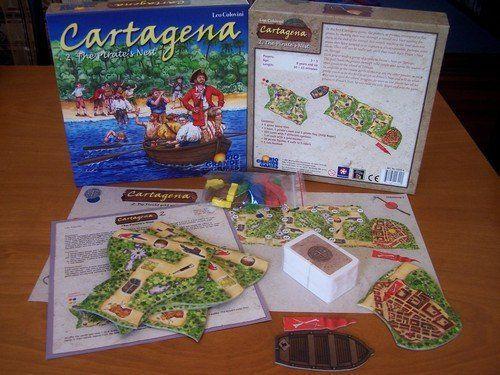 O Envio gratuito de brinquedo de cartagena 2 II jogo Alemanha regras presente para as crianças presentes para as crianças jogos de mesa