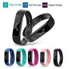 Mesuvida ID115 умный Браслет фитнес-трекер часы будильник счетчик шагов умный Браслет Группа Спорт Sleep Monitor SmartBand