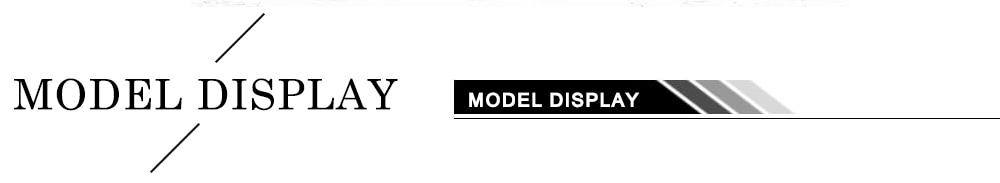 model display