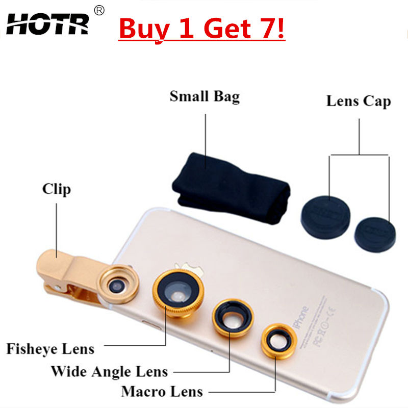 Universal Gold Wide Angle LENS, Fish Eye Camera Lens,Clear