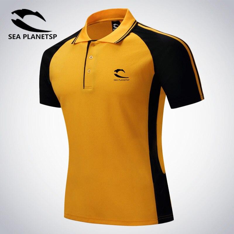 SEA PLANETSP 2019 New Brand Mens Printed   POLO   Shirts Short Sleeve   Polo   Casual Stand Collar Male   Polo   Shirt   polo   shirt men