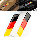 2Pcs Car Styling 3D Sticker Lift Wrench Handle Seat Insert Trim Cover For Volkswagen VW Golf 5 6 MK5 MK6 GTI Germany Flag Emblem