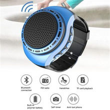 10pcs/lot Bluetooth Speaker U6 Super Bass Wireless Wristband Smart Watch Sport Music Player Call Playing FM Radio PK B90 B20(China)